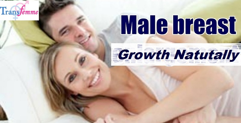 male breast growth